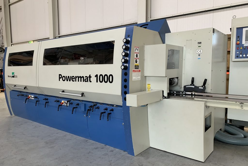 Weinig Powermat 1000 NUTENBETT U. MOBILSPINDEL