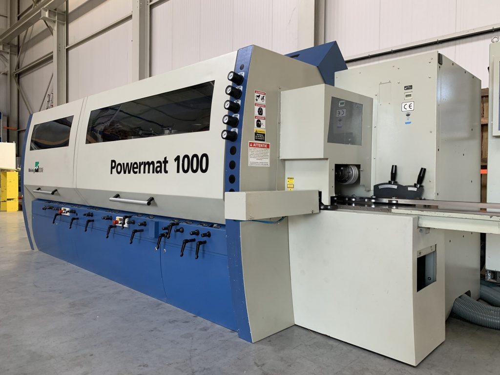 Weinig Powermat 1000 GROOVE GUIDE