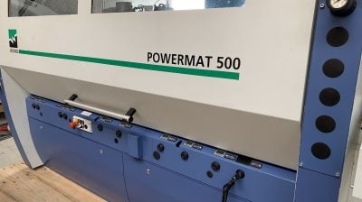 Weinig Powermat 500 – groove guide mobile spindle