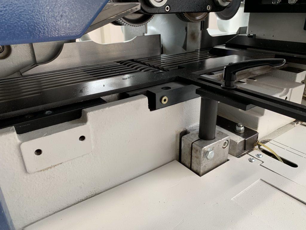Weinig Powermat 500 -nutenfuehrung mobil spindel