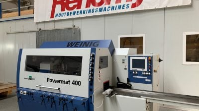 Weinig Powermat 400 - 6 Spindeln