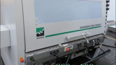 Weinig Powermat 600 – 260 mm SOLD