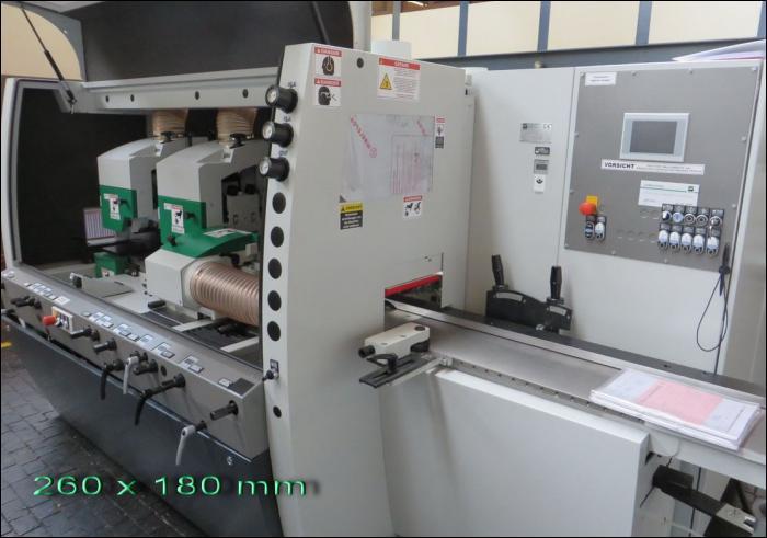 Weinig Powermat 600 – 260 mm