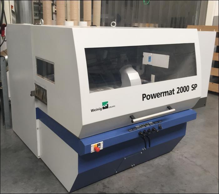 Weinig Powermat 2000 SP Spaltsaege