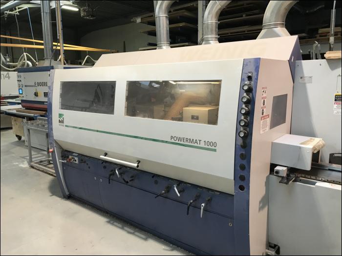 Weinig Powermat 1000 – 260 mm